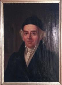Hahnemann's portræt som hænger i museet i Køthen